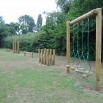 compact tracks of adventure playground