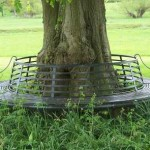Full Circle Tree Seat 150x150 - Bollards, barriers and tree guards