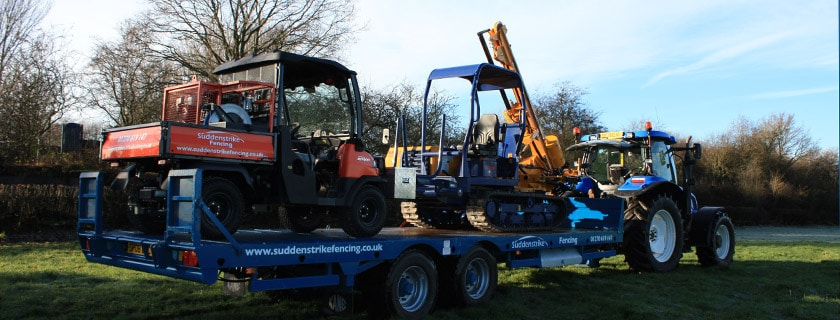 Fencing machinery and equipment
