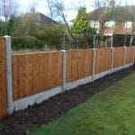Post and Panel Fencing Cheshire