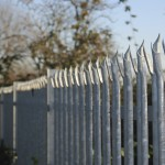 Steel Palisade Security Fencing Cheshire