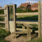 Stile with Dog Access