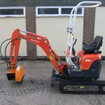 Stump grinding machinery