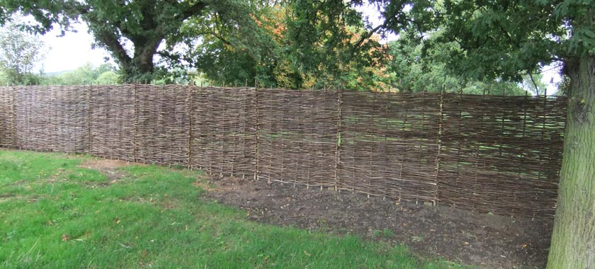 Wattle Hurdle Windbreak Fencing