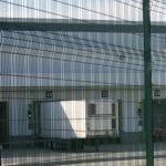 zebex security fencing around warehouse
