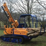 Bryce post knocker fencing machinery