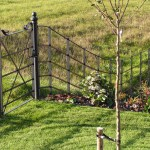 Black Estate Fencing