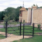 Estate Fencing Kissing Gate