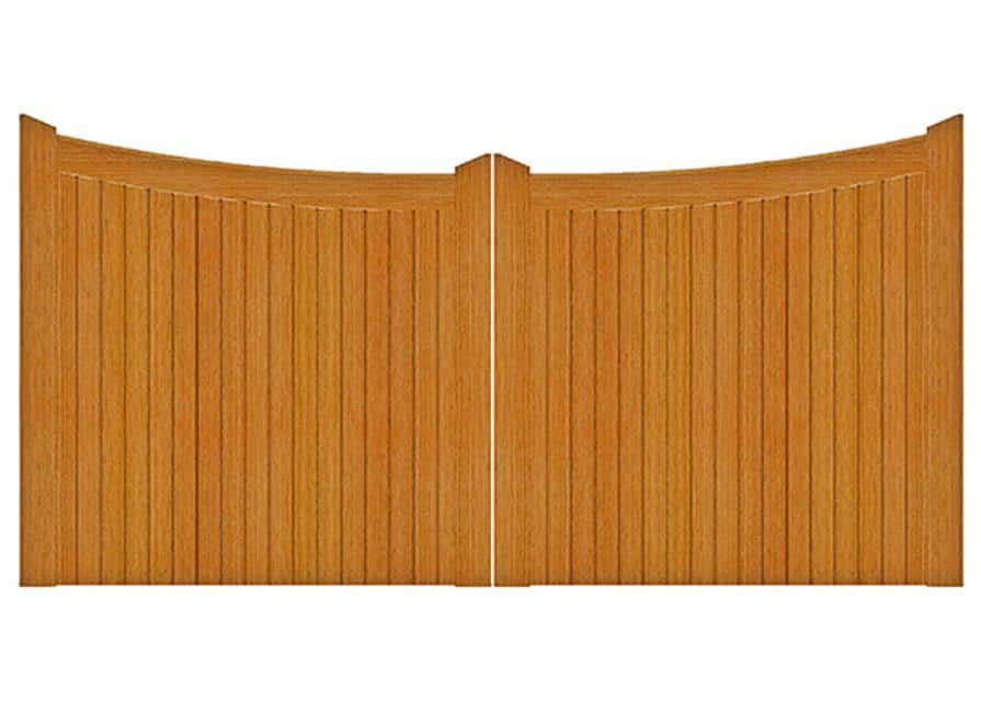Lincoln - Wooden gates