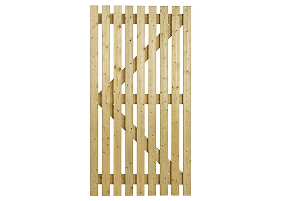 Orchard Flat - Wooden gates