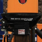 Bryce fencing post driver cap rotator