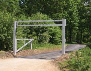 Height Restrictive Barrier