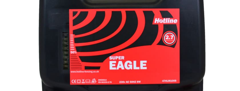 Electric Fencing Energiser Super-Eagle Cheshire