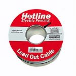 Electric fencing lead out cable