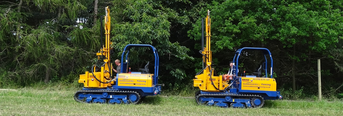 Suddenstrike fencing machinery hire