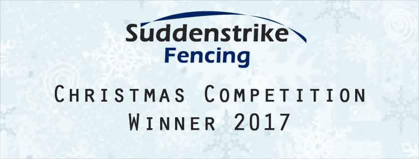 Competition Winner Christmas 2017 Suddenstrike Fencing Cheshire