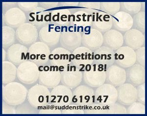 Suddenstrike fencing competition winner cheshire 2018