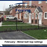 Suddenstrike Fencing Metal Railings