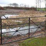 Suddenstrike metal fencing gate 2018