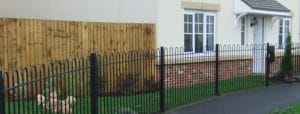 metal fencing suddenstrike new housing cheshire