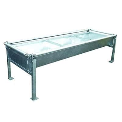 anti badger troughs 400x400 - Water troughs, piping and feed troughs
