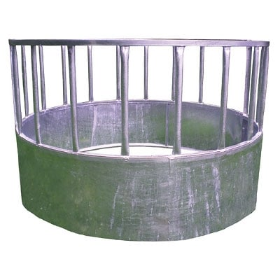 cattle sheep ring feeder 400x400 - Water troughs, piping and feed troughs