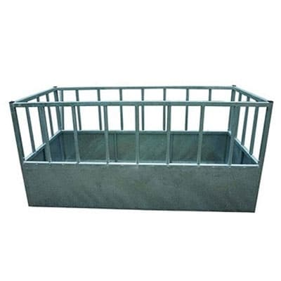 high density feeders 400x400 - Water troughs, piping and feed troughs