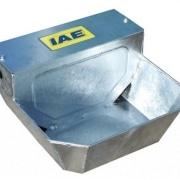 Galvanised steel universal water bowl