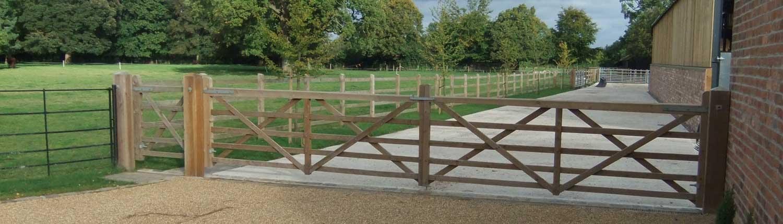 gates-pedestrian-access