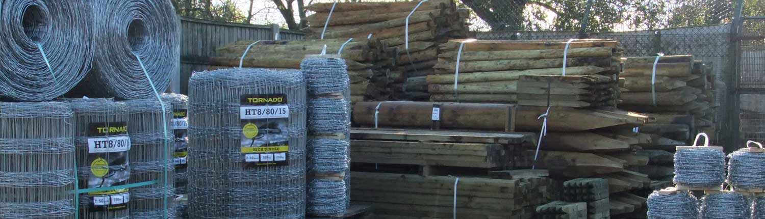 posts wire netting - Posts, wire and netting